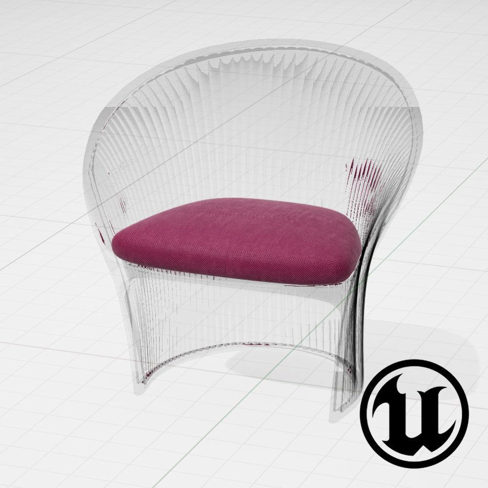 Magis Flower Chair UE4