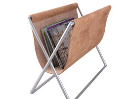 Newspaper Holder with Magazines 3D