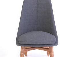 3D Armchair contemporary
