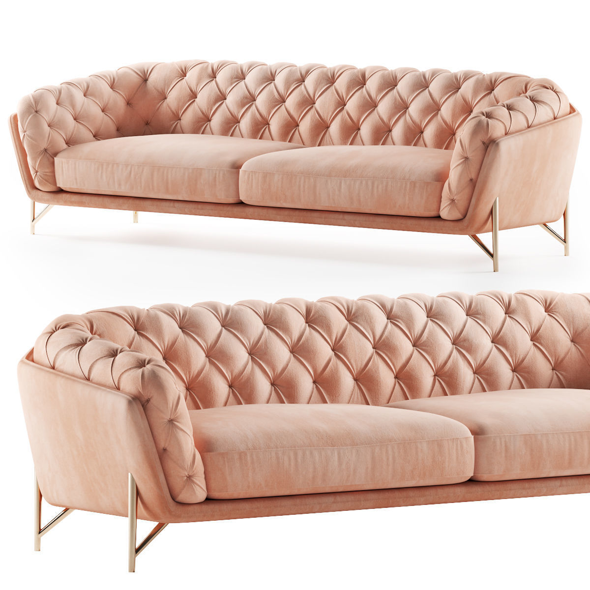 Calia Italia sofa art nouveau