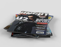 magazines 3D