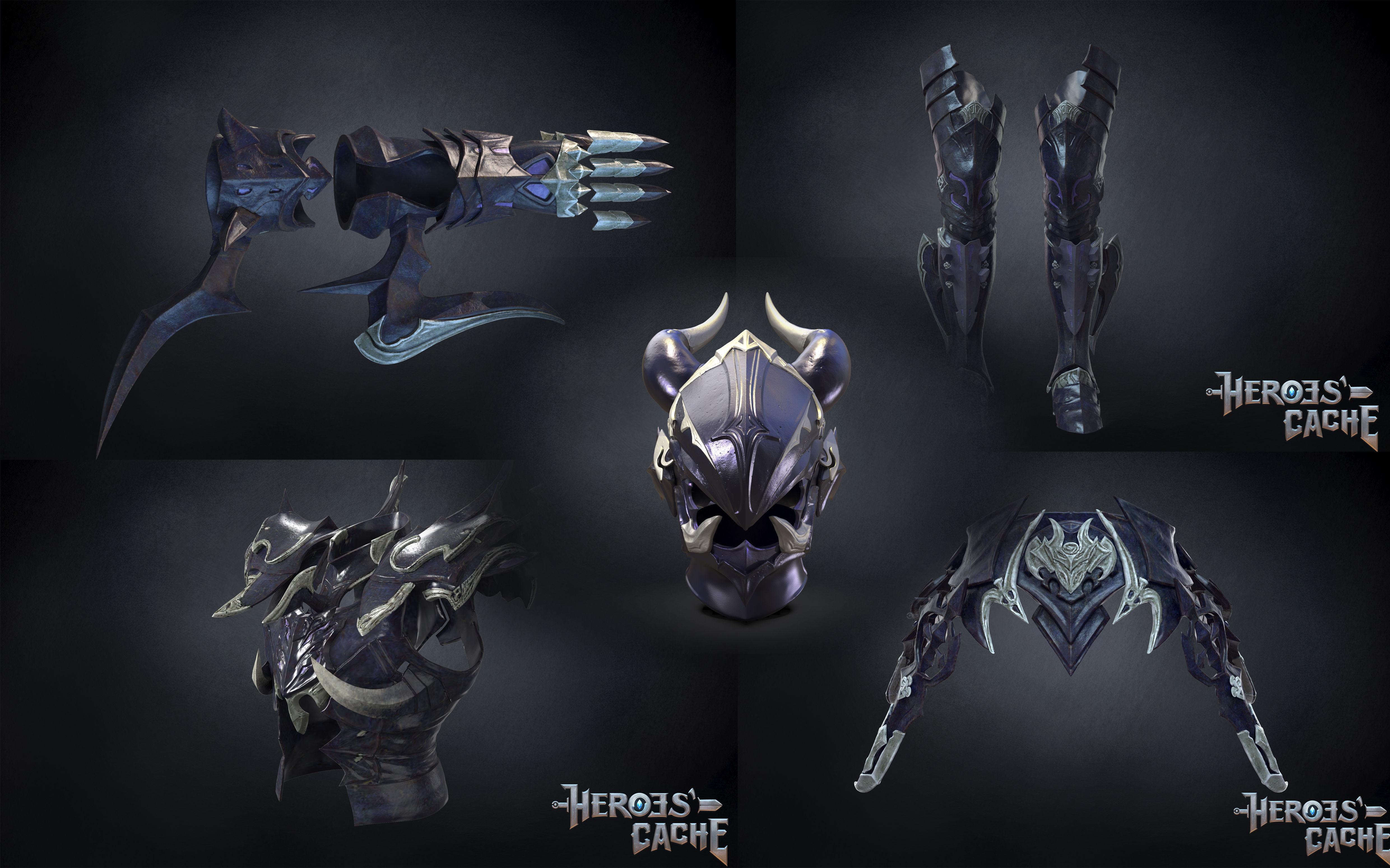 Final Fantasy XIV - Drachen Full Set plus Gae Bolg