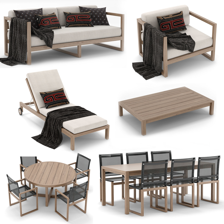 RH Outdoor Aegean collection