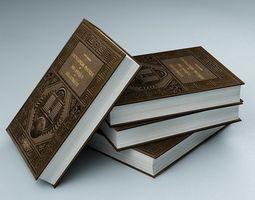 Books 01 3D model