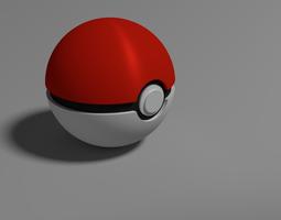 3d model pokeball