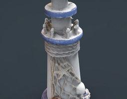 3D model DECORATIVE LIGHTHOUSE
