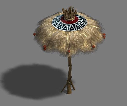 Water cloud Ze - grass umbrella