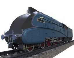 Mallard train 3D asset