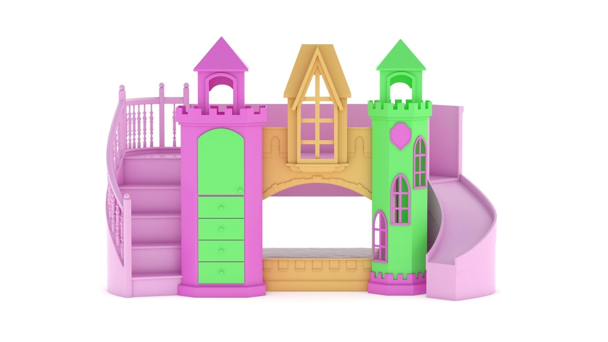 Castle Bed Kid Room