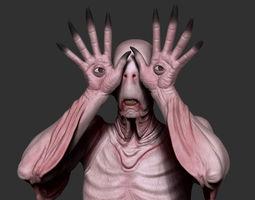 Pale Man 3D Model