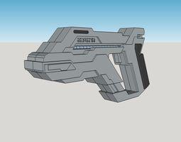 Asuran Pistol 3D print model