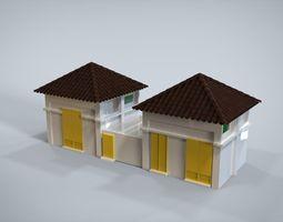 3D asset House set