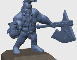 gotrek gurnisson 3d print model