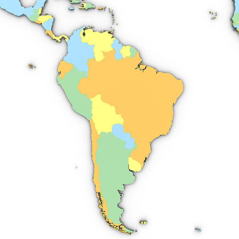 3d political world map cgtrader political world map 3d model max obj 3ds mtl tga 2 gumiabroncs Images