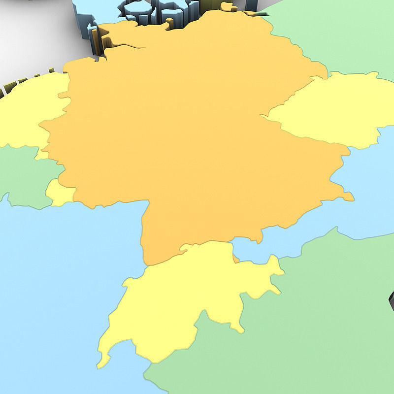 3d political world map cgtrader political world map 3d model max obj 3ds mtl tga 8 gumiabroncs Images