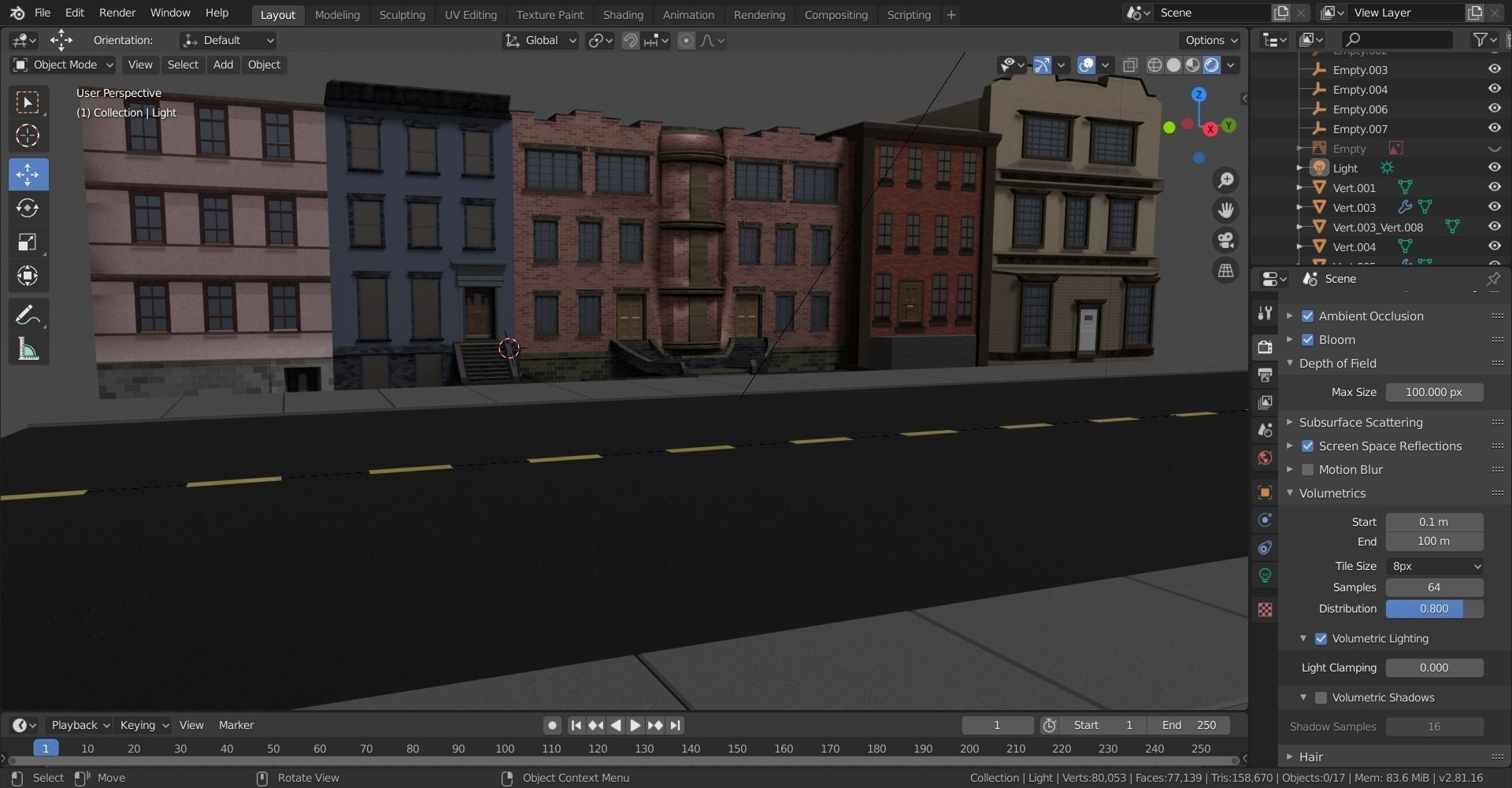 Low poly Buildings and Assets