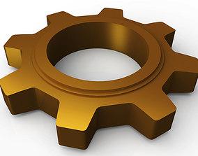 decor 3D printable model Cogwheel