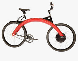 3d model electric bicycle