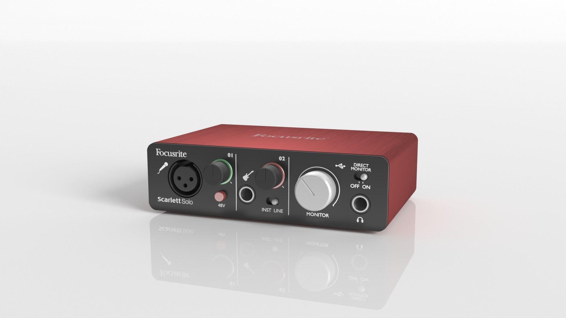 Sound card Focusrite Scarlett Solo 2nd gen