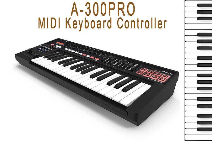 keyboard controller 3d model max 1