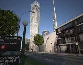 City KC8 3D asset game-ready