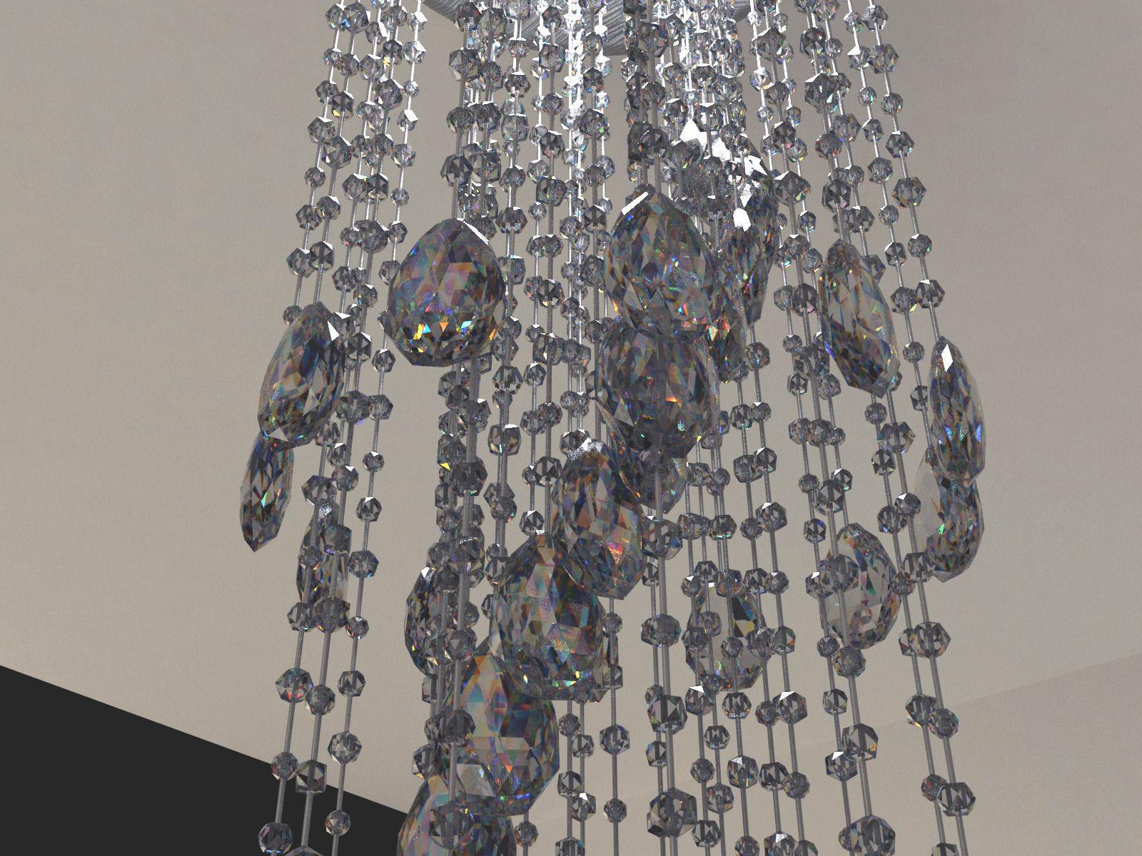 3d model modern crystal chandelier cgtrader modern crystal chandelier 3d model max obj 3ds fbx mtl tga 3 arubaitofo Images