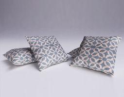 3D model 3dsmax Contemporary Cushion