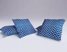 3d model contemporary cushion 09