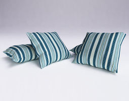 3d model contemporary cushion 13