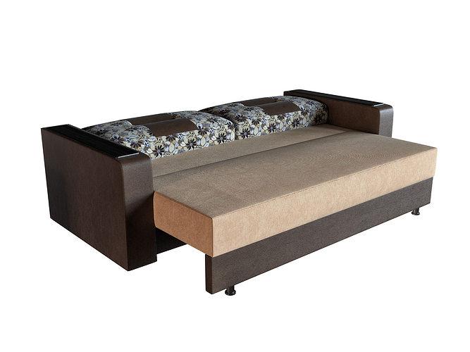 Sofa bed sonata m 3 2 free 3d model max obj 3ds fbx mtl for Sofa bed 3d model