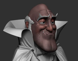 Dracula 3D Model