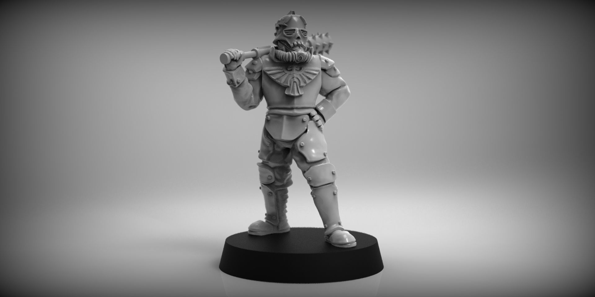 SciFi Trench Fighter - 28mm miniature