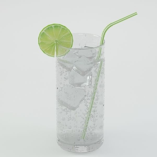 Drink 03 Soda with lime