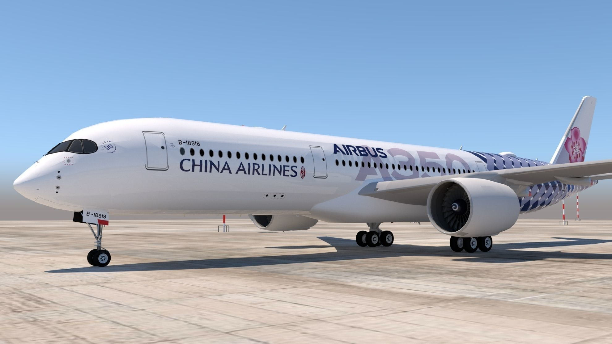 CHINA AIRLINES A350