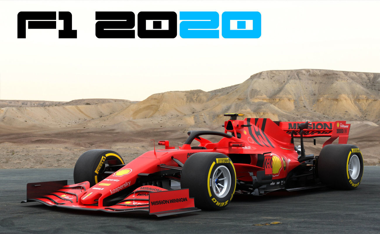 F1 Ferrari SF1000 Season 2020