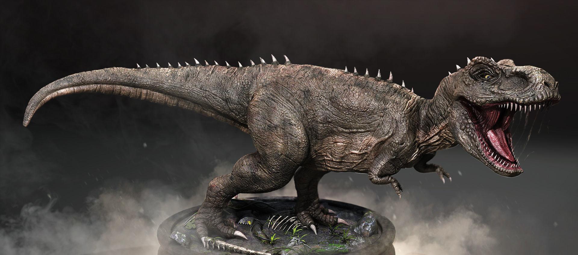 Tyrannosaurus Rex High Quality 3D model