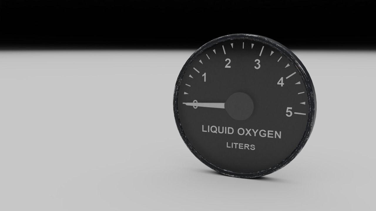 F16 Liquid Oxygen Indicator