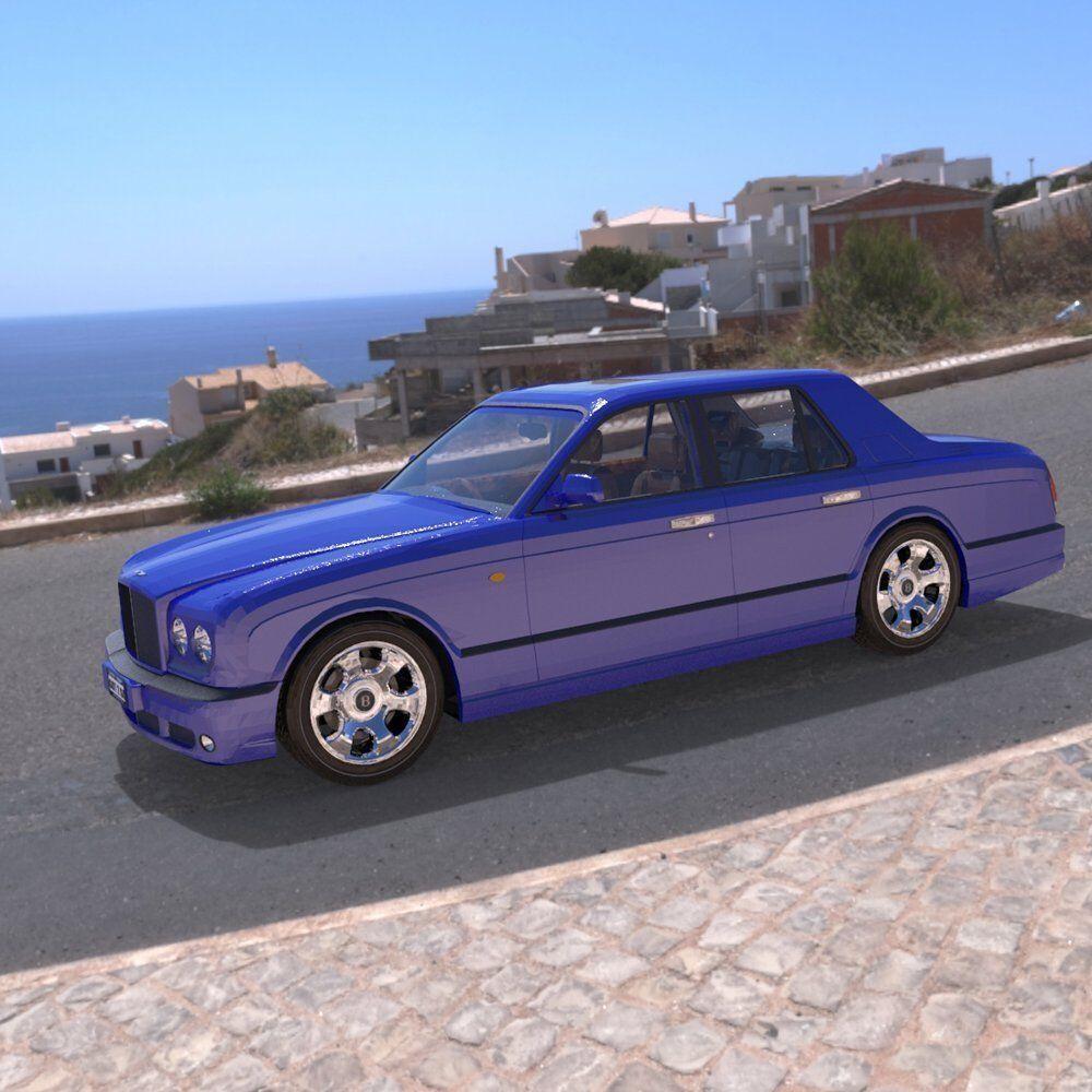 Bentley Arnage 3D Model Rigged OBJ PZ3 PP2