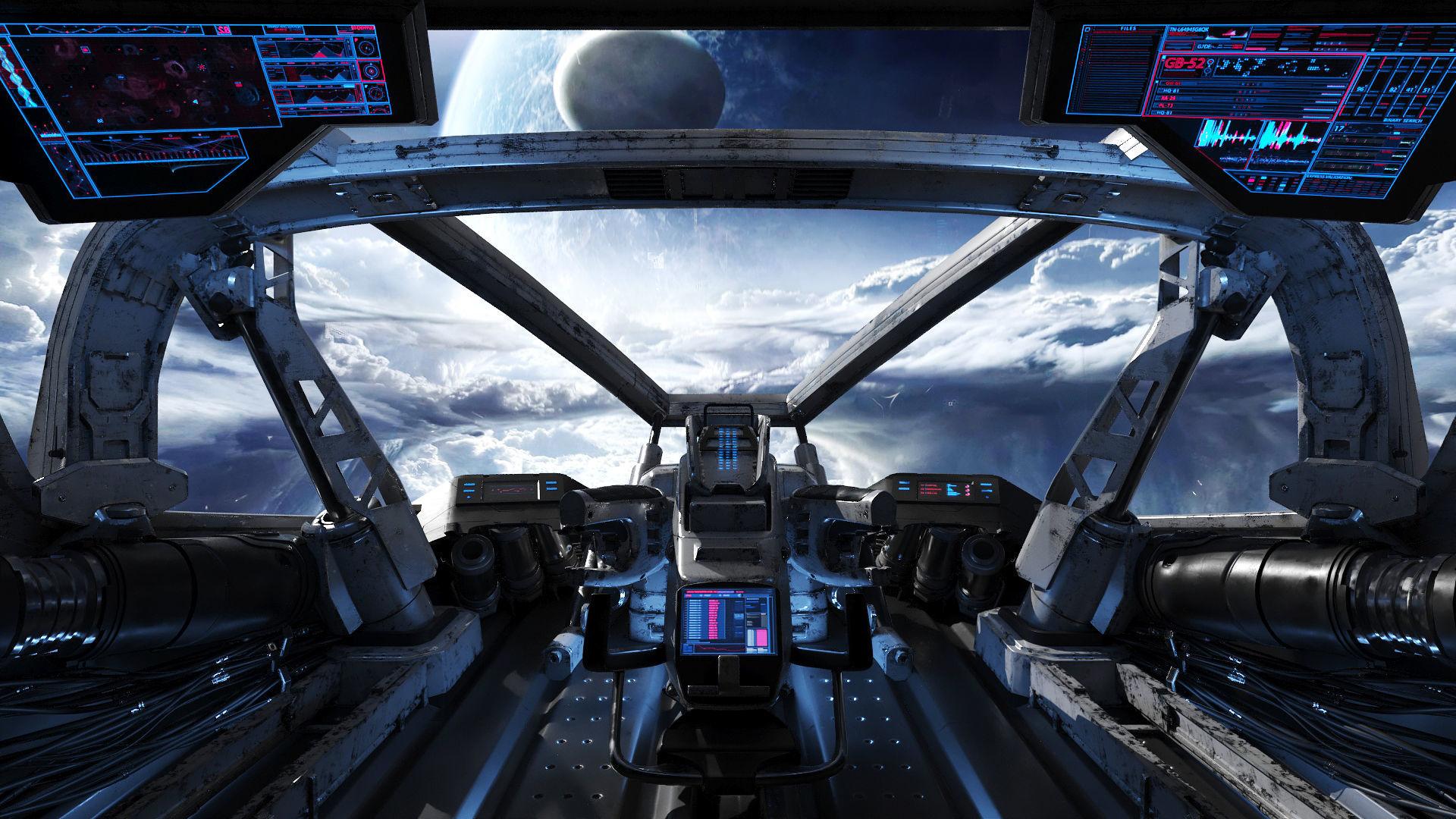 Spaceship Cockpit v2
