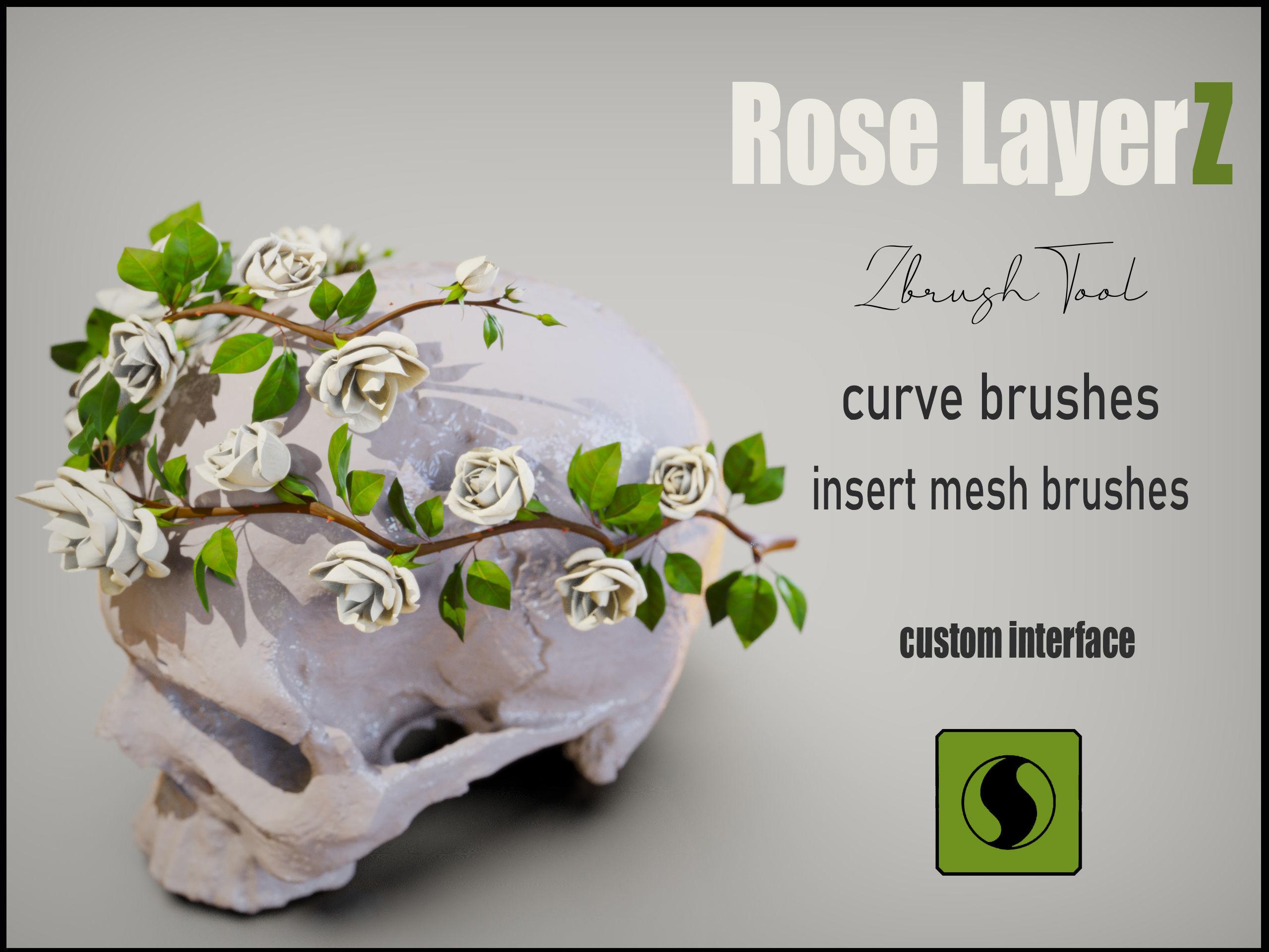 Rose LaerZ  Zbrush tool