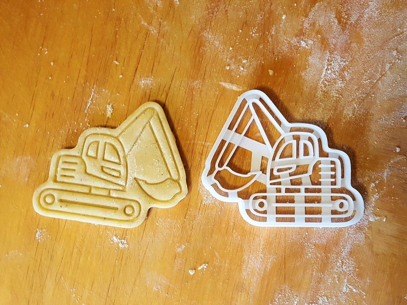 Excavator cookie cutter