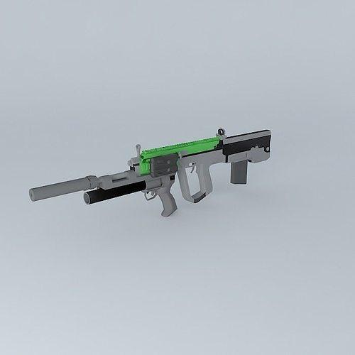 type 56 sopmod 3d model max obj 3ds fbx stl skp 1