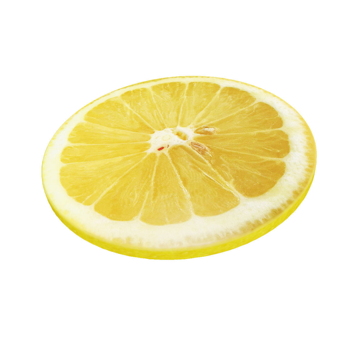 Lemon round slice