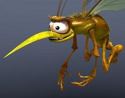mosquito cartoon 3d