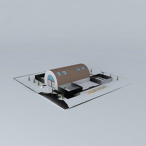 factory shade 2 3d model max obj mtl 3ds fbx stl skp 1