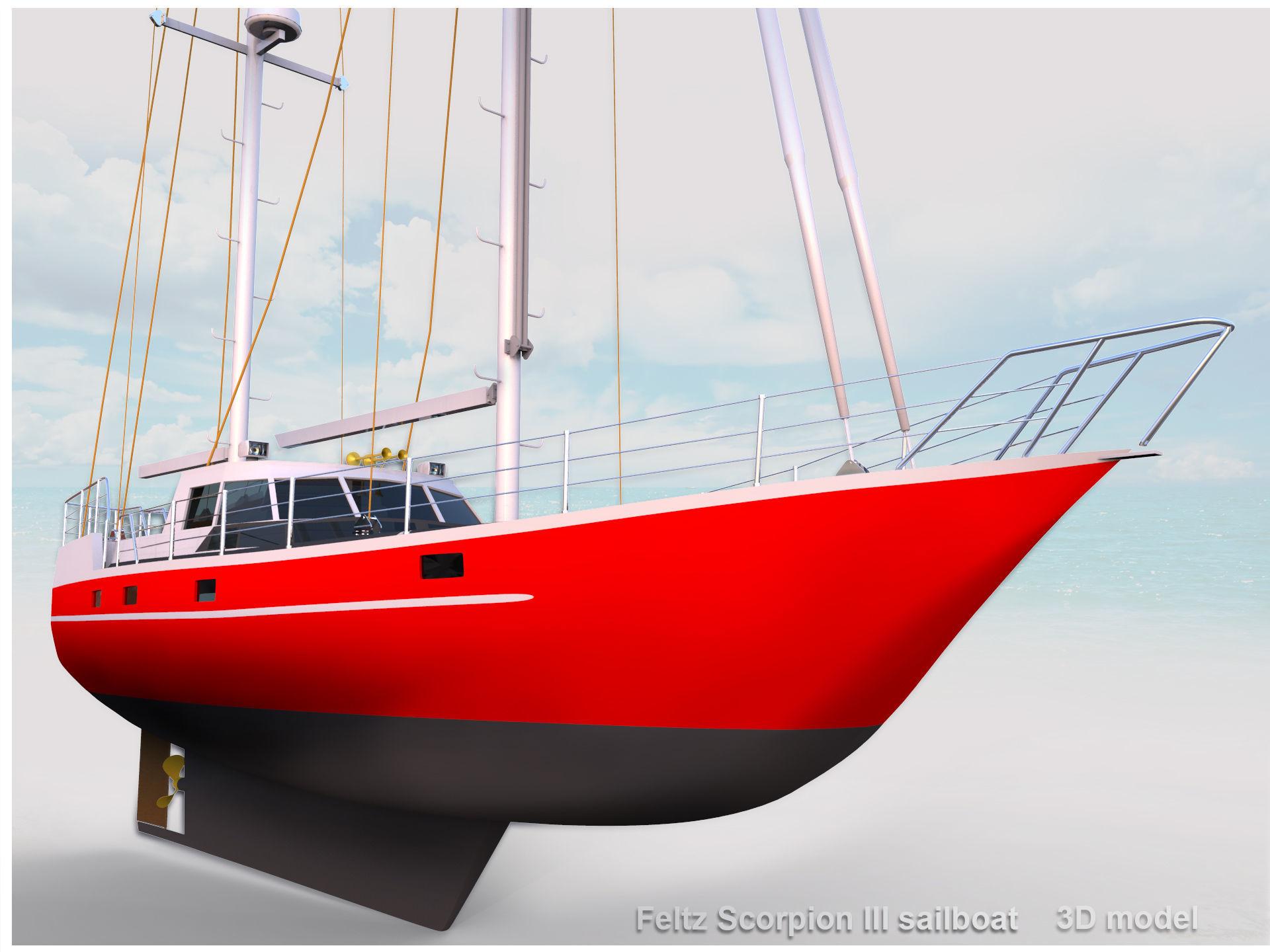Feltz Scorpion III Sailboat