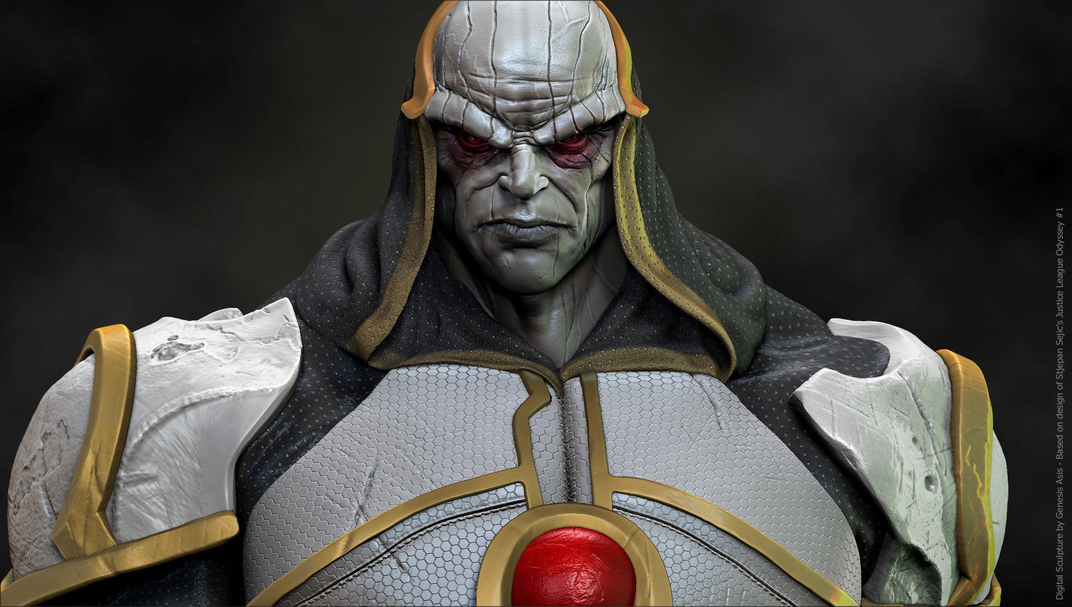 Darkseid - JLO with Original Helmet Variant