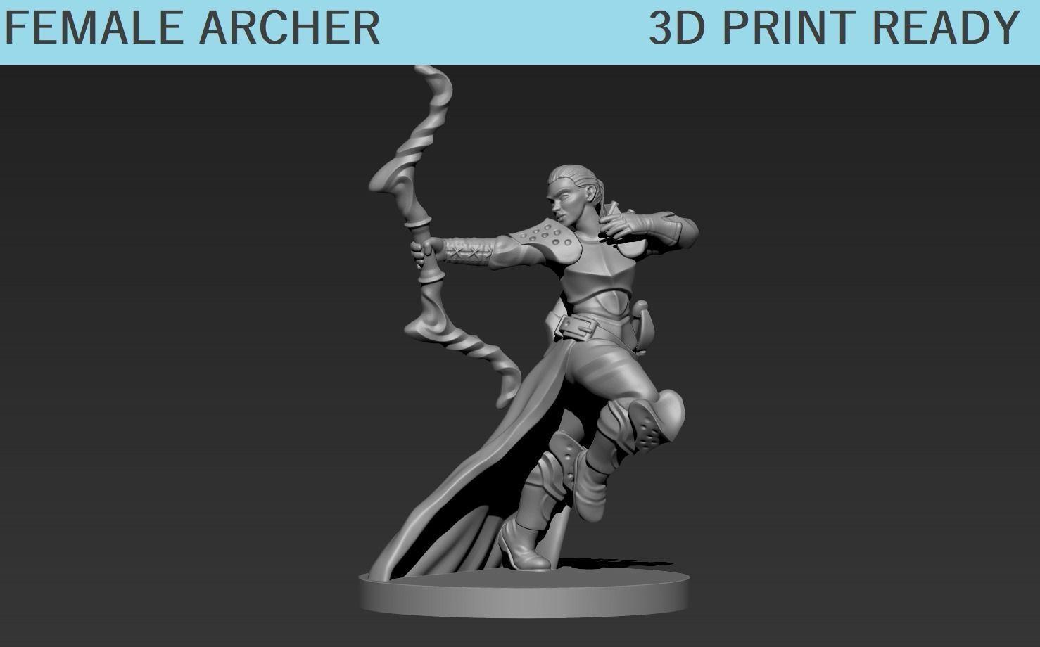 Female Archer Mini