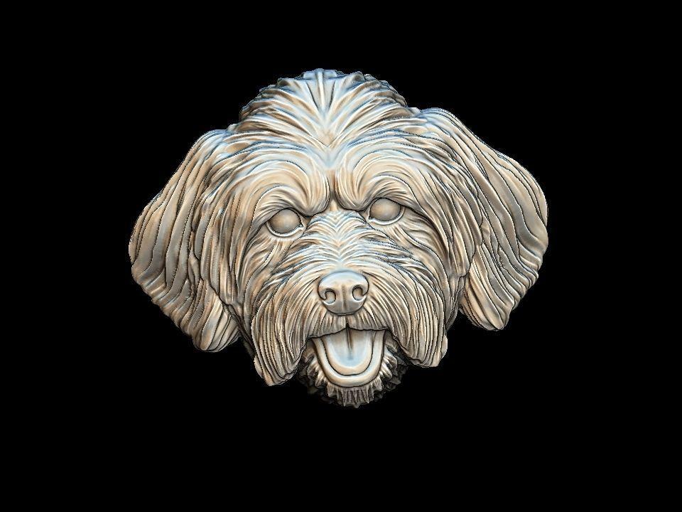 Lhasa Apso dog pendant