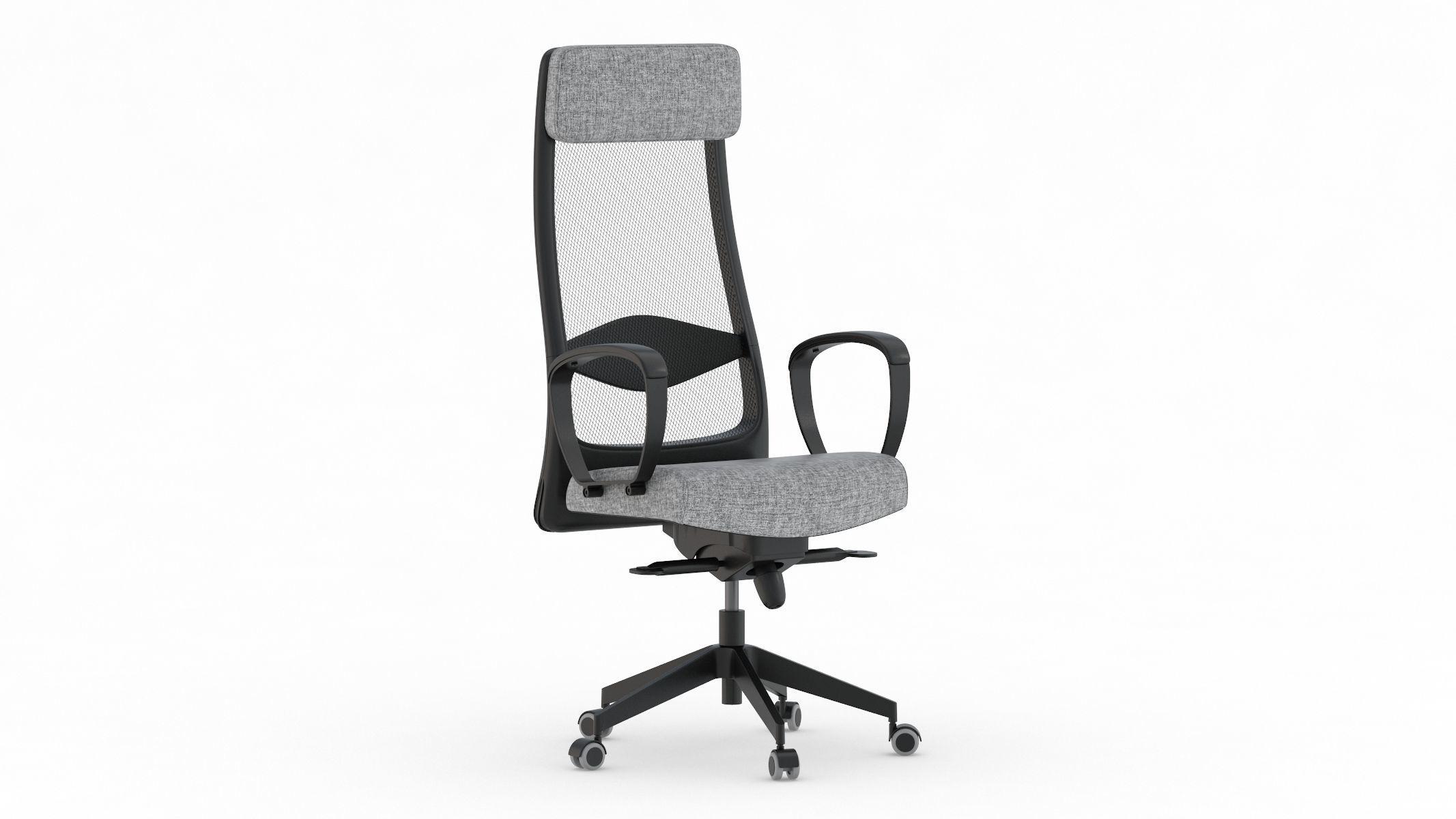 Ikea Markus Office Chair Cgtrader